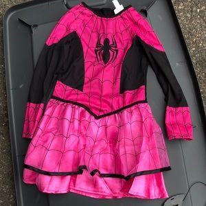 Marvel spider Girl pink size small